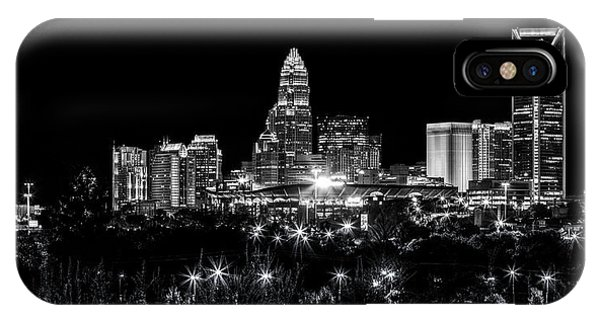 Nc iPhone Case - Charlotte Night by Chris Austin