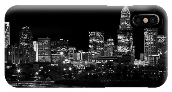 Nc iPhone Case - Charlotte Night V2 by Chris Austin