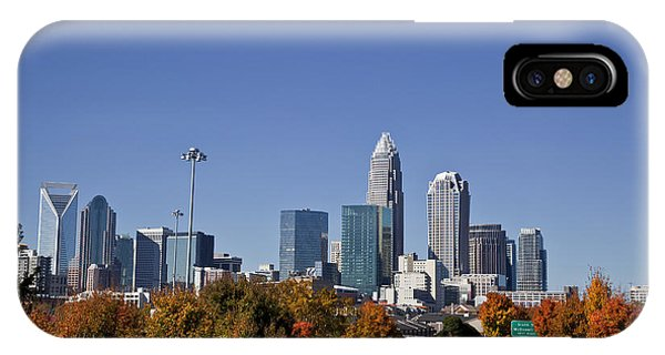 Charlotte North Carolina IPhone Case