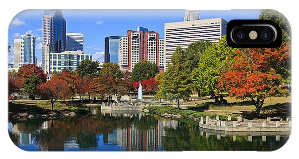 Charlotte North Carolina Marshall Park IPhone Case