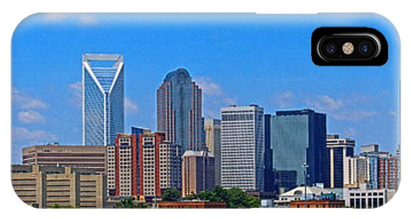 Charlotte Panorama IPhone Case