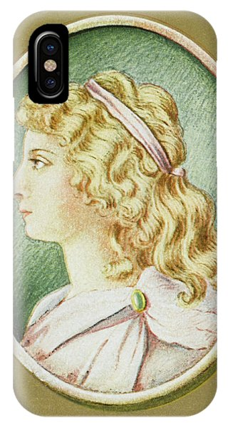 Charlotte Von Schiller  Wife Phone Case by Mary Evans Picture Library