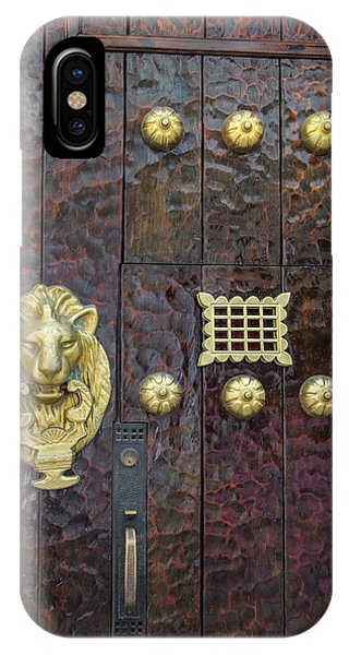 Charming Entry Door, Cartagena, Colombia Phone Case by Jerry Ginsberg