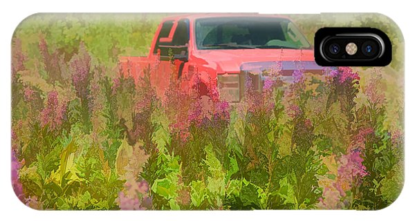 Chasing Wildflowers IPhone Case