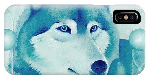 Chasing Wolf IPhone Case