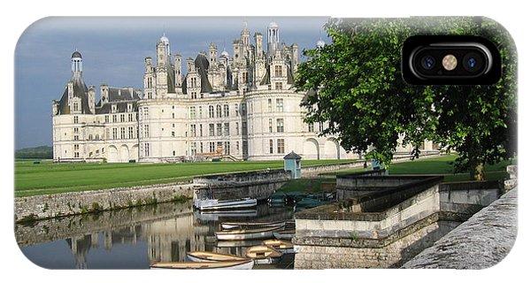 Chateau Chambord Boating IPhone Case