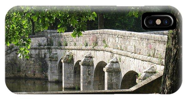Chateau Chambord Bridge IPhone Case