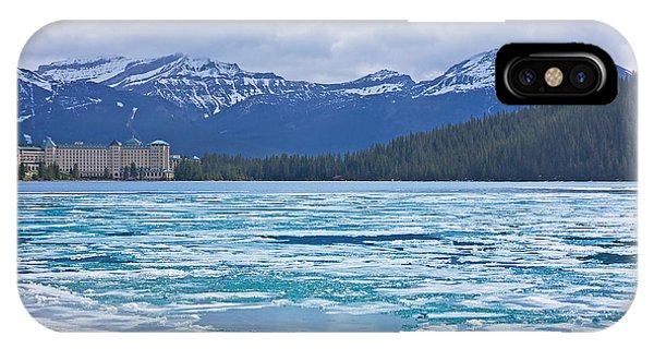 Chateau Lake Louise #2 IPhone Case