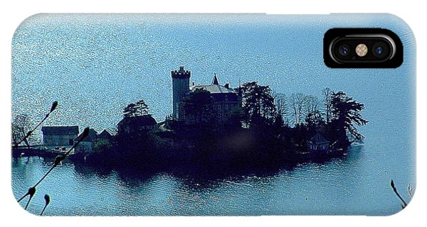 Chateau Sur Lac IPhone Case