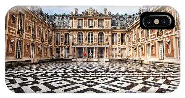 IPhone Case featuring the photograph Chateau Versailles France by Pierre Leclerc Photography