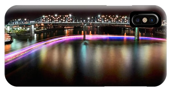Chattanooga Holiday Boat Parade Phone Case by Steven Llorca
