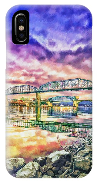 Chattanooga Reflection 1 IPhone Case