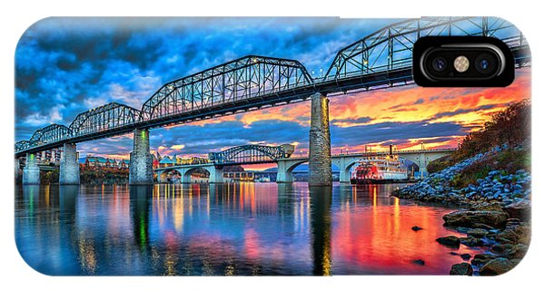 Chattanooga Sunset 3 IPhone Case