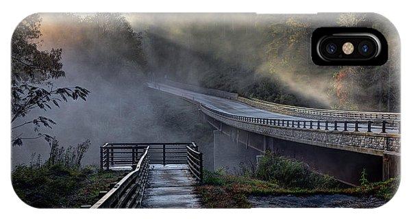 Chattooga River Bridge IPhone Case
