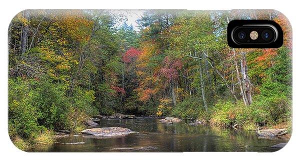Chauga River Fall Scenic IPhone Case