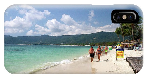 Chaweng Beach And The Gulf Of Thailand IPhone Case