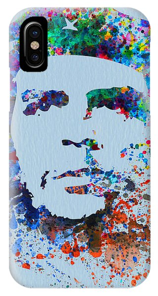 Rights iPhone Case - Che Guevara Watercolor by Naxart Studio