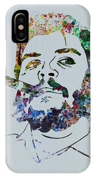 Leader iPhone Case - Che Watercolor by Naxart Studio