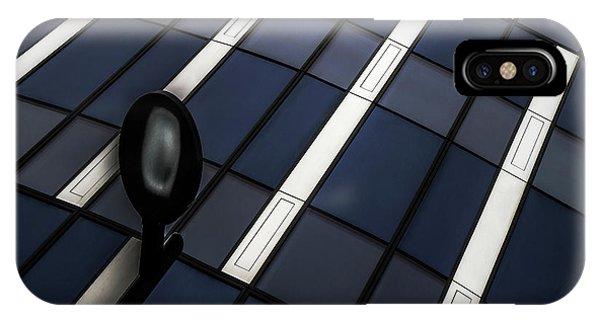 Facade iPhone Case - Checkerboard by Gilbert Claes