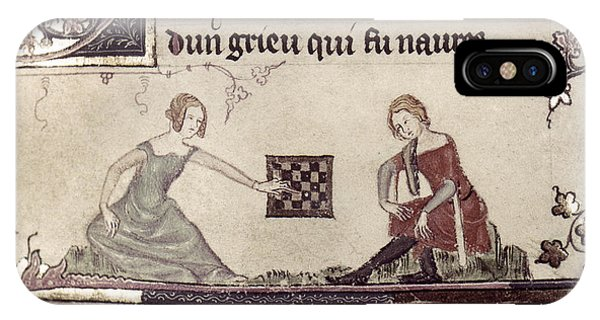 Checkers, 14th Century IPhone Case