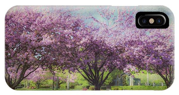 Cheery Cherry Trees - Nostalgic IPhone Case