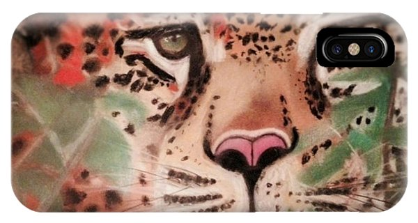 Cheetah In The Grass IPhone Case