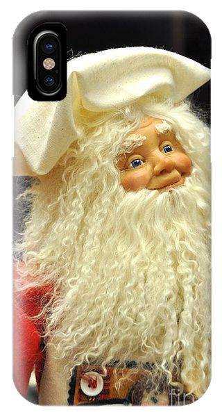 Chef Santa Phone Case by Vinnie Oakes