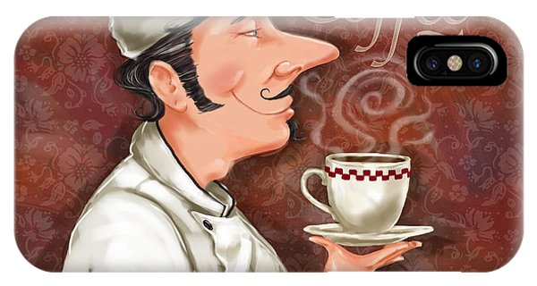Chef Smell The Coffee IPhone Case