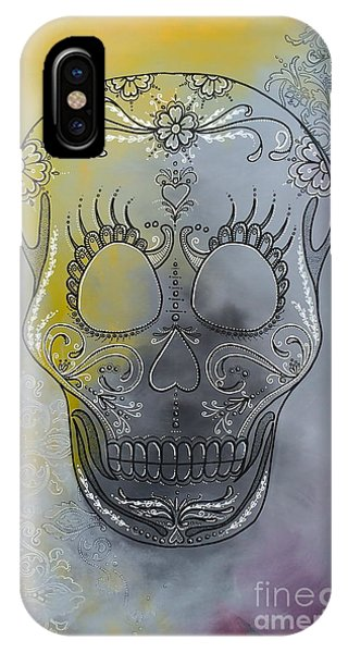 Chelsea Sugar Skull IPhone Case