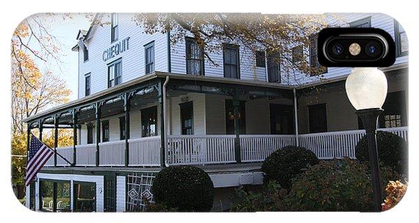 Chequit Inn Shelter Island New York IPhone Case