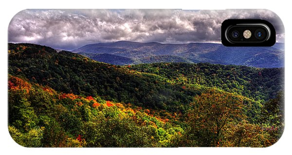 Cherohala Skyway Brushy Ridge Overlook IPhone Case