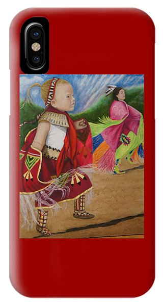 Cherokee Ribbon Dancers IPhone Case