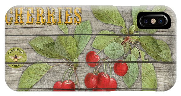 Orchard iPhone Case - Cherries-jp2675 by Jean Plout