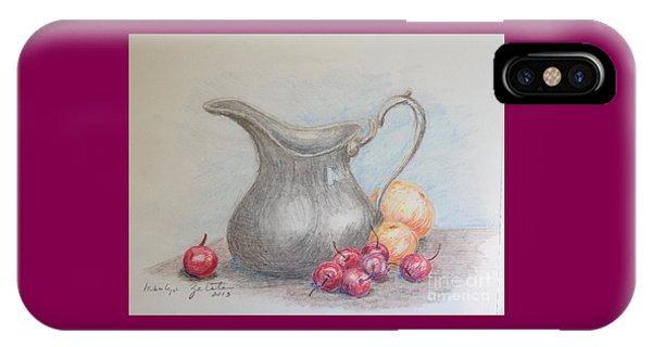 Cherries Still Life IPhone Case