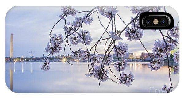 Cherry Blossom Dawning IPhone Case