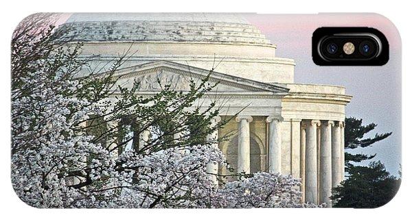 Cherry Blossom Sunset IPhone Case