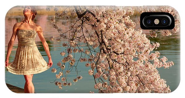Cherry Blossoms 2013 - 082 IPhone Case