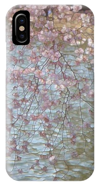 Cherry Blossoms P2 IPhone Case