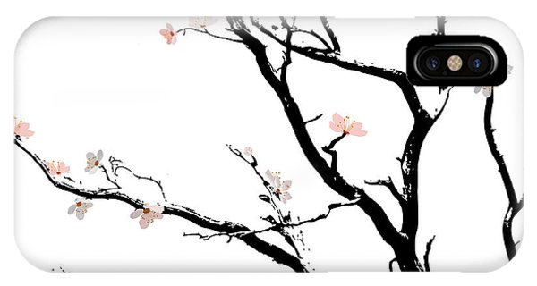 Cherry Blossoms Tree IPhone Case
