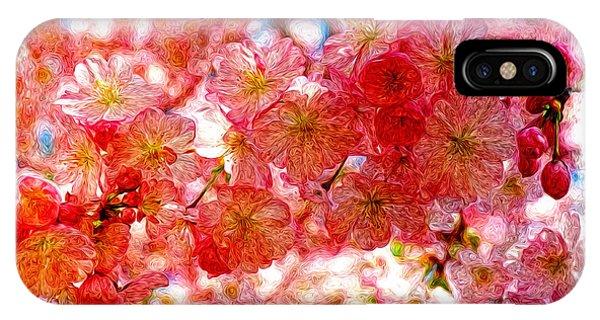 Cherry Blossums IPhone Case