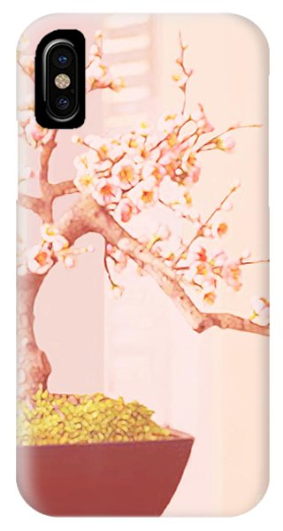 Cherry Bonsai Tree IPhone Case