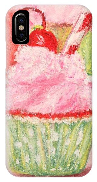 Cherry Limeade Cupcake IPhone Case