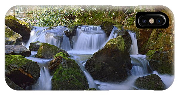 Cherry Run Cascades #1 - Bald Eagle State Forest IPhone Case