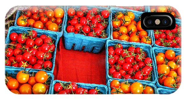 Cherry Tomatoes IPhone Case