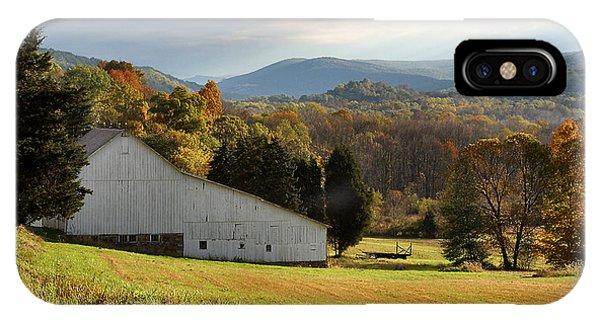 Cherry Valley Farm IPhone Case