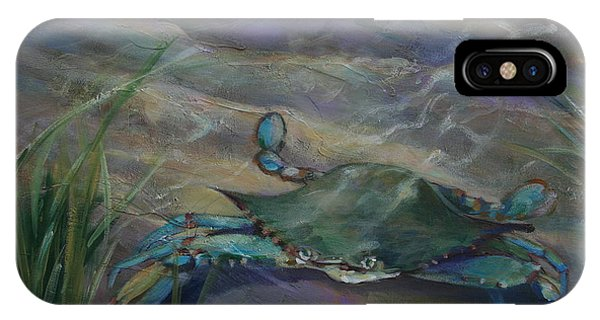 Chesapeake Bay Blue Crab IPhone Case
