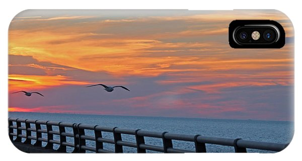 Chesapeake Bay Bridge IPhone Case