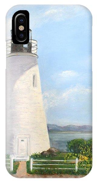 Chesapeake Lighthouse IPhone Case