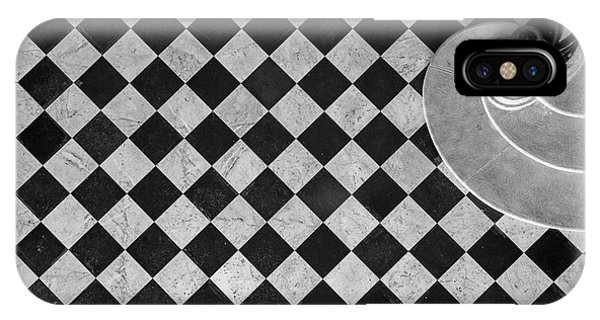 Provence iPhone Case - Chessboard Staircase by Jean-louis Viretti