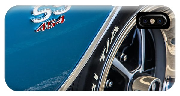 Chevelle Ss 454 Badge IPhone Case